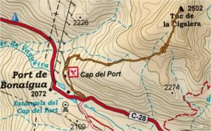 Mapa+Bonaigua+Cigalera+20121229